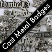 CAST METAL BADGES
